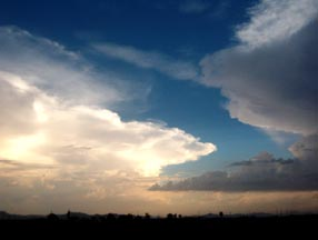 Summer Monsoon Thunderclouds